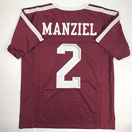 sports shoes 307c3 b1504 Amazon.com: Unsigned Johnny Manziel Texas A&M Maroon College ...