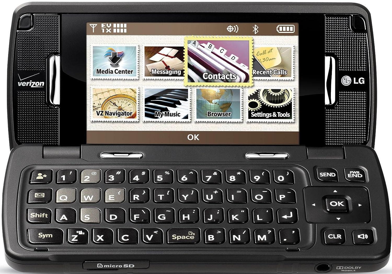Amazon.com: LG enV Touch VX11000 Phone, Black (Verizon Wireless): Cell  Phones & Accessories