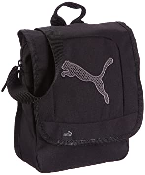 bffbe053f7d5 Image Unavailable. Image not available for. Colour  Puma Big Cat Portable Shoulder  Bag 17 x 22 x 8 cm black-dark shadow