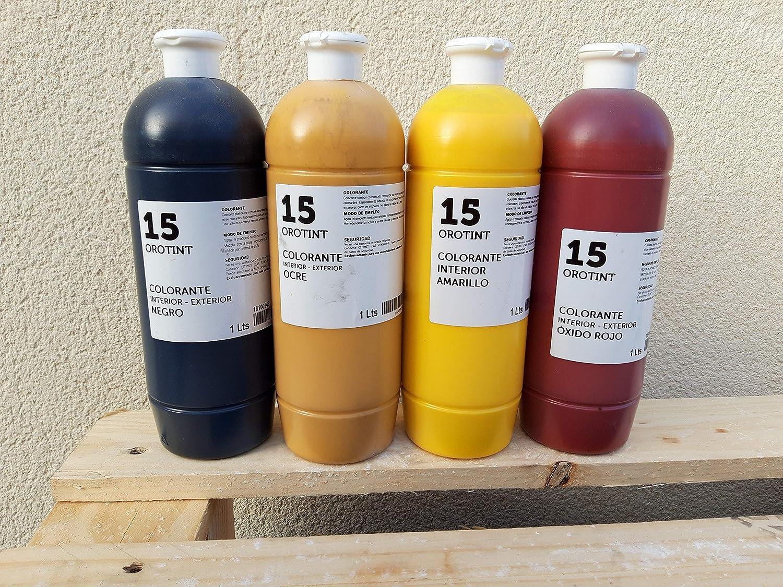 Colorante Agua Pintura 1Lt (Ocre)