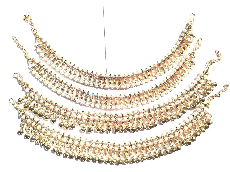 Buy Tirupati Traditional World Indian Gold Tone Designer Ethnic Cz