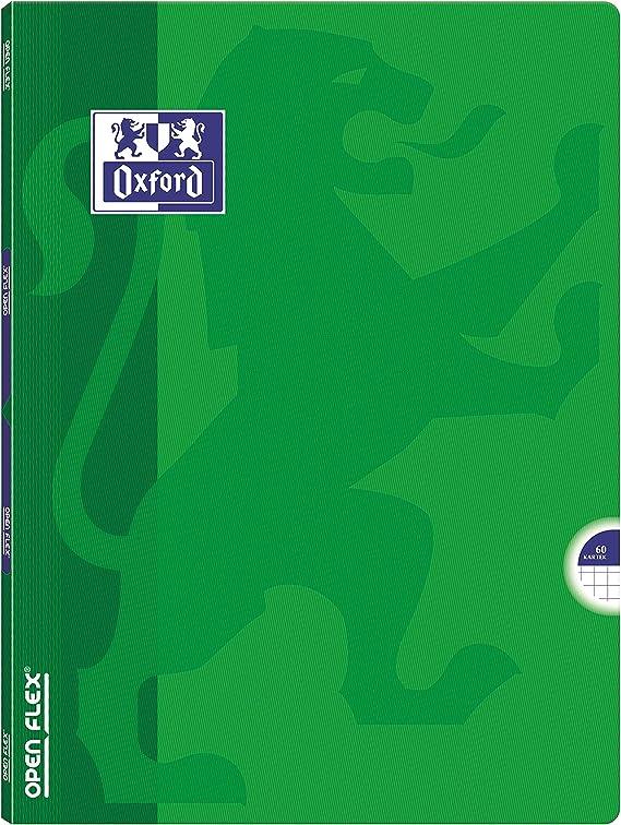 Oxford OPENFLEX Schulheft A4 5 St/ück-Packung Farbenmix 60 Bl/ätter kariert
