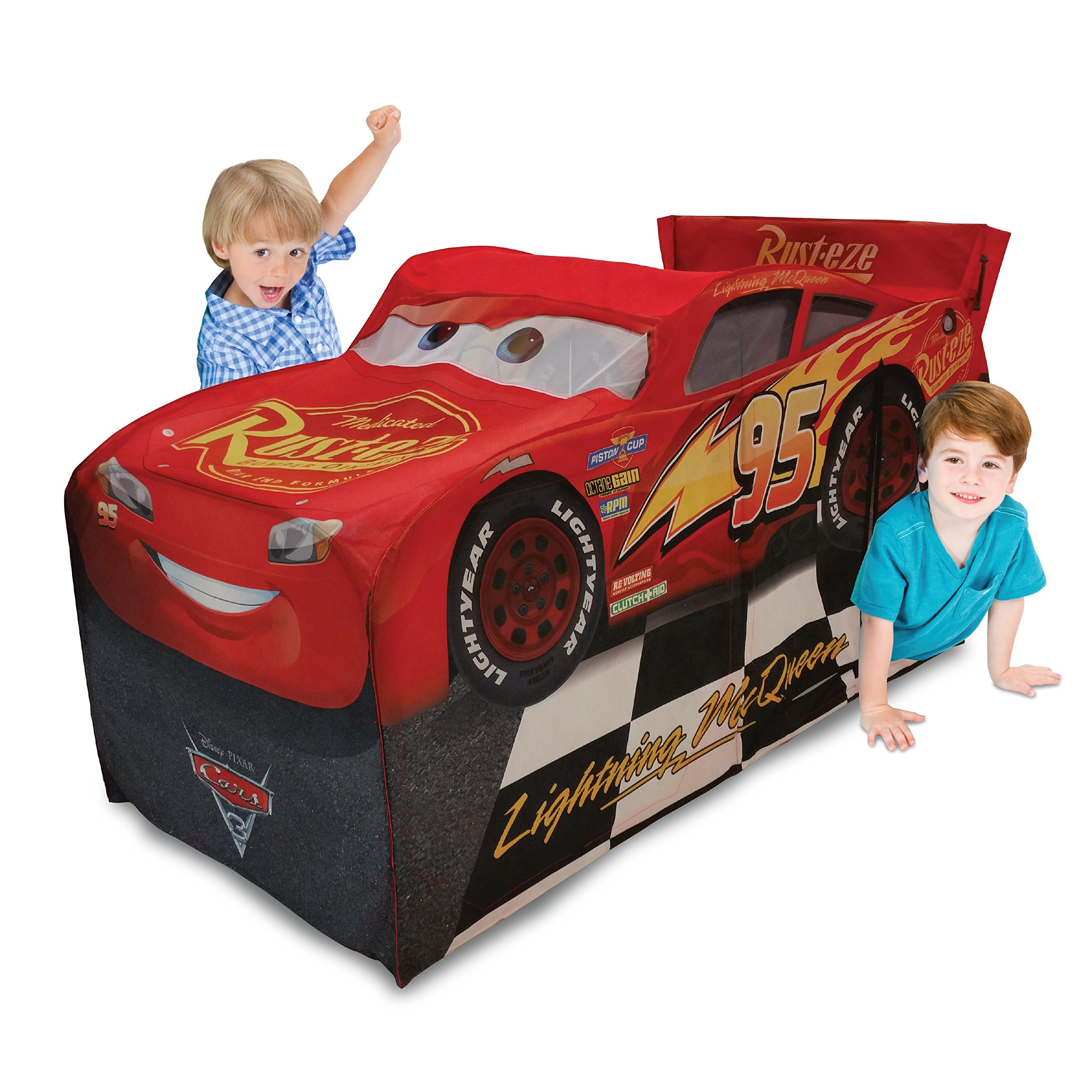Playhut Disney Cars 3 Lightening McQueen Vehicle Play Tent Playtent