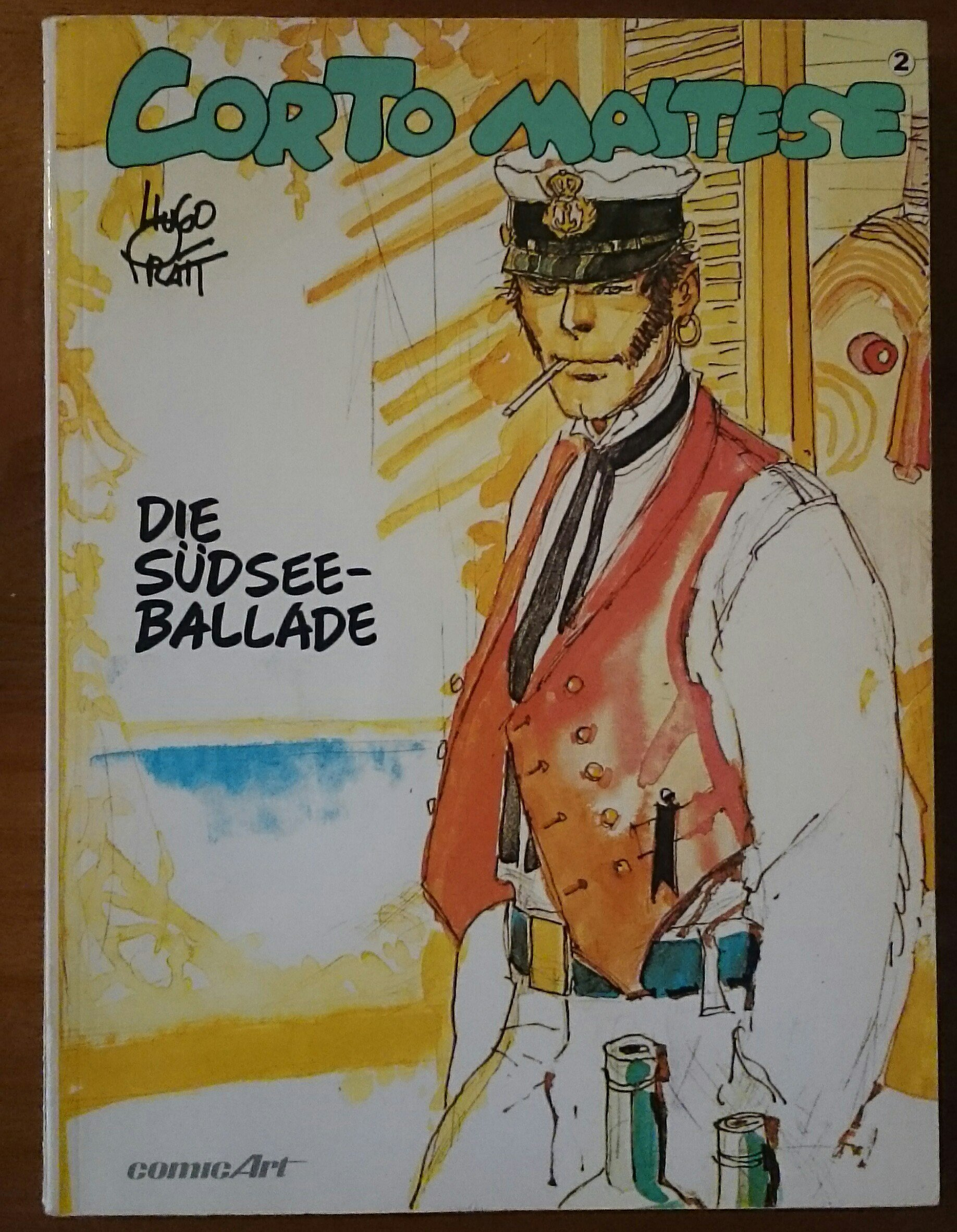 Corto Maltese, Comic Art, Bd.2, Die Südseeballade