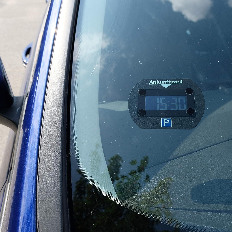 Park Lite 4251511945939 Needit Disque de stationnement /électronique Noir avec homologation officielle de la KBA