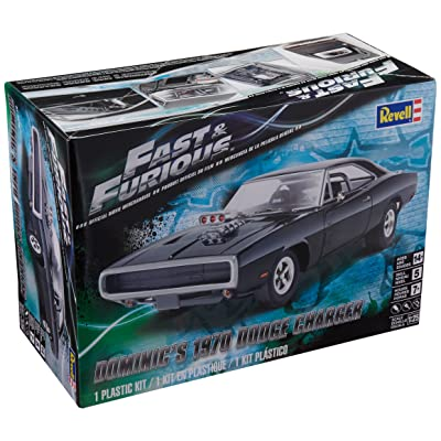Revell Fast & Furious Dominic's 1970 Dodge Charger Plastic Model Kit: Toys & Games