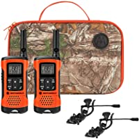 Motorola Talkabout T265 Rechargeable Two-Way Radio Bundle – Orange