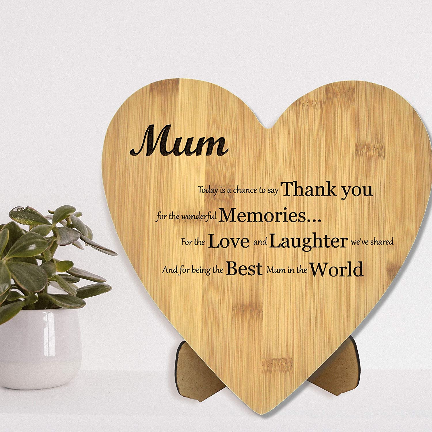 Mothers Day Personalised chopping board for Mums Christmas present Birthdays