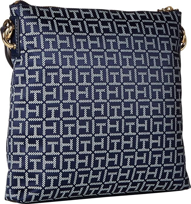 Tommy Hilfiger Womens Shannon Crossbody Navy/White One Size: Handbags: Amazon.com
