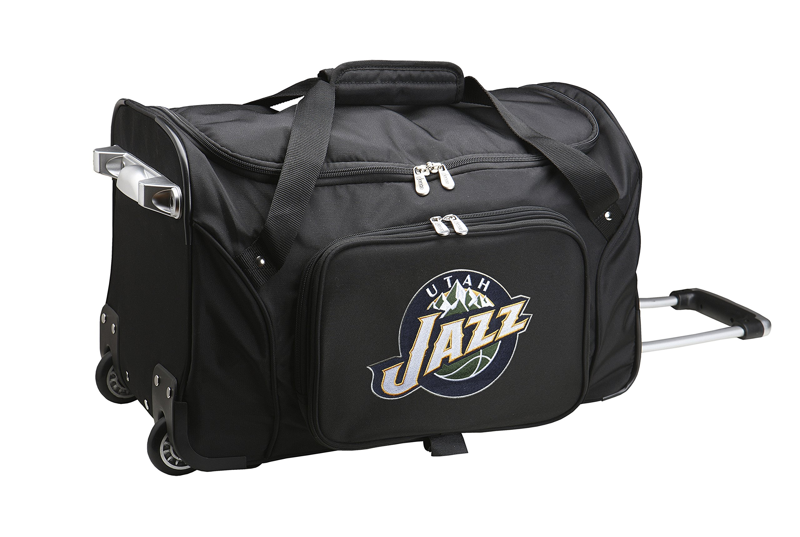 NBA Utah Jazz Wheeled Duffle Bag