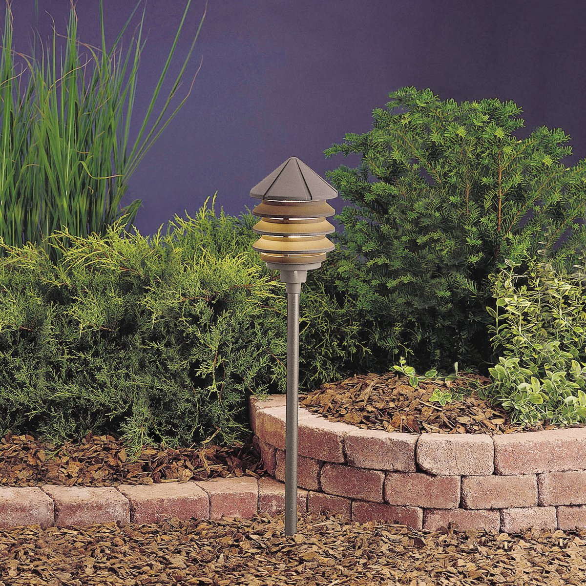 Kichler 15205BKT One Light Path U0026 Spread   Landscape Path Lights    Amazon.com