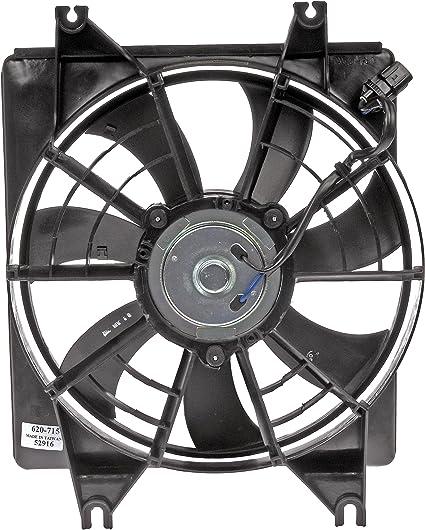 Dorman 620 – 715 Asamblea del ventilador del radiador: Amazon.es ...