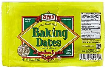 Amazoncom Ziyad Baking Date Filling 13 Ounce Dates Produce