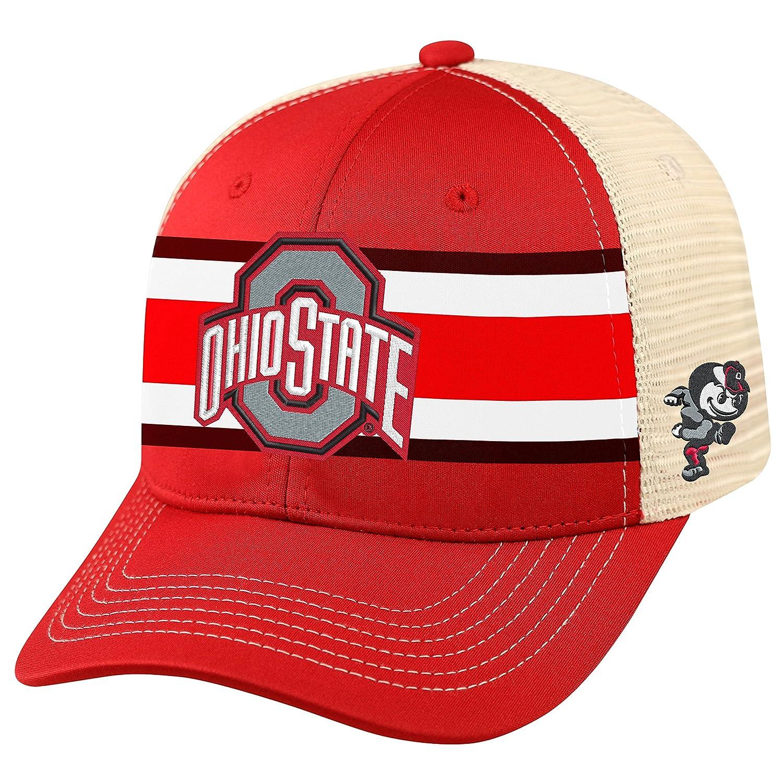 95988248bbc Amazon.com   Ohio State Buckeyes Mesh Adjustable Hat   Sports   Outdoors