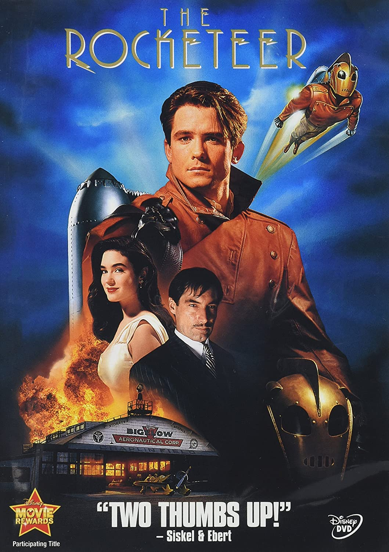 Rocketeer [Reino Unido] [DVD]: Amazon.es: Cine y Series TV