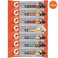 Deals on 7 Pack Gatorade Whey Protein Bars, Variety Pack 2.8-Oz