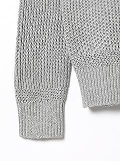Cotton Rib Crewneck Sweater 11-15-1023-103: Heather Grey