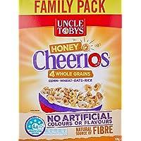 UNCLE TOBYS Cheerios Honey Multigrain Cereal, 570g