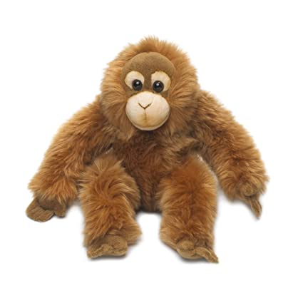 Wwf Orangutan 23cm Soft Plush Stuffed Animal Toy