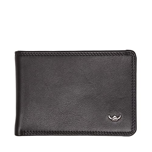 Golden Head Petite Billfold Coin Wallet Polo RFID Protect Petite ...