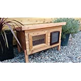 Delton Pets Large Outdoor Cat Shelter, Cat Kennel