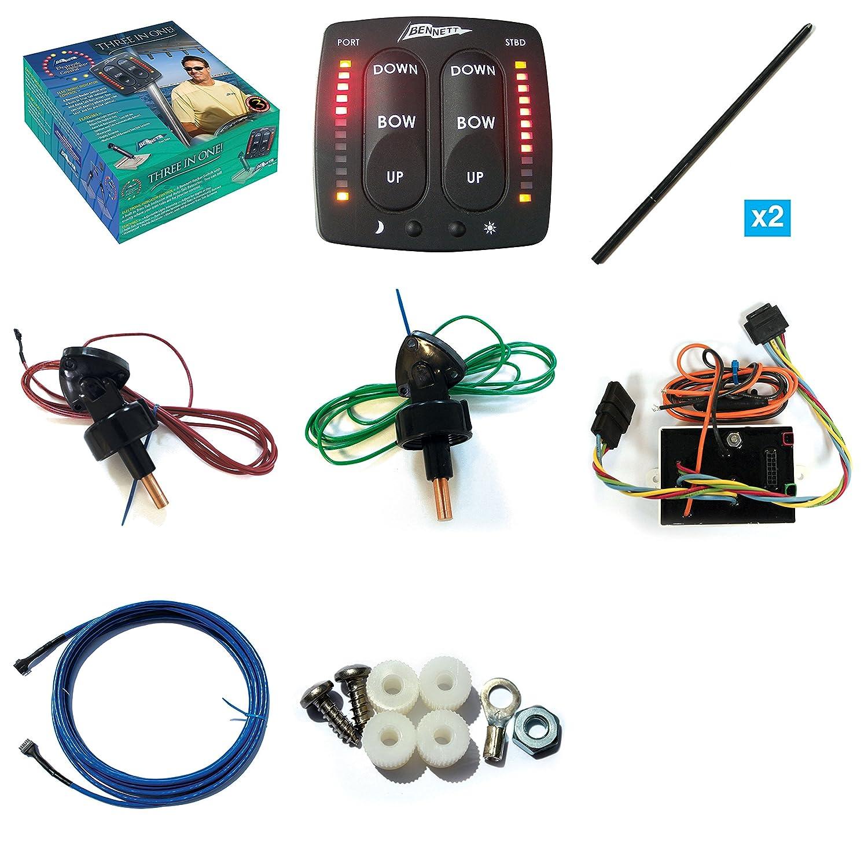 Bennett Trim Tabs Wiring Eic5000 Content Resource Of Diagram Tab Motor Amazon Com Electronic Indicator Control Kit Automotive Rh Manual V351