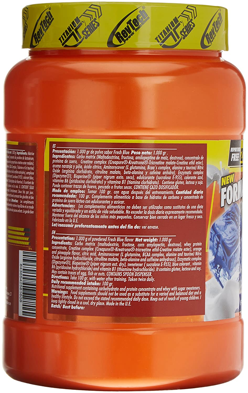 Revtech Mammuth Carbohidratos y Proteína, Sabor Fresh Blue - 998 gr ...