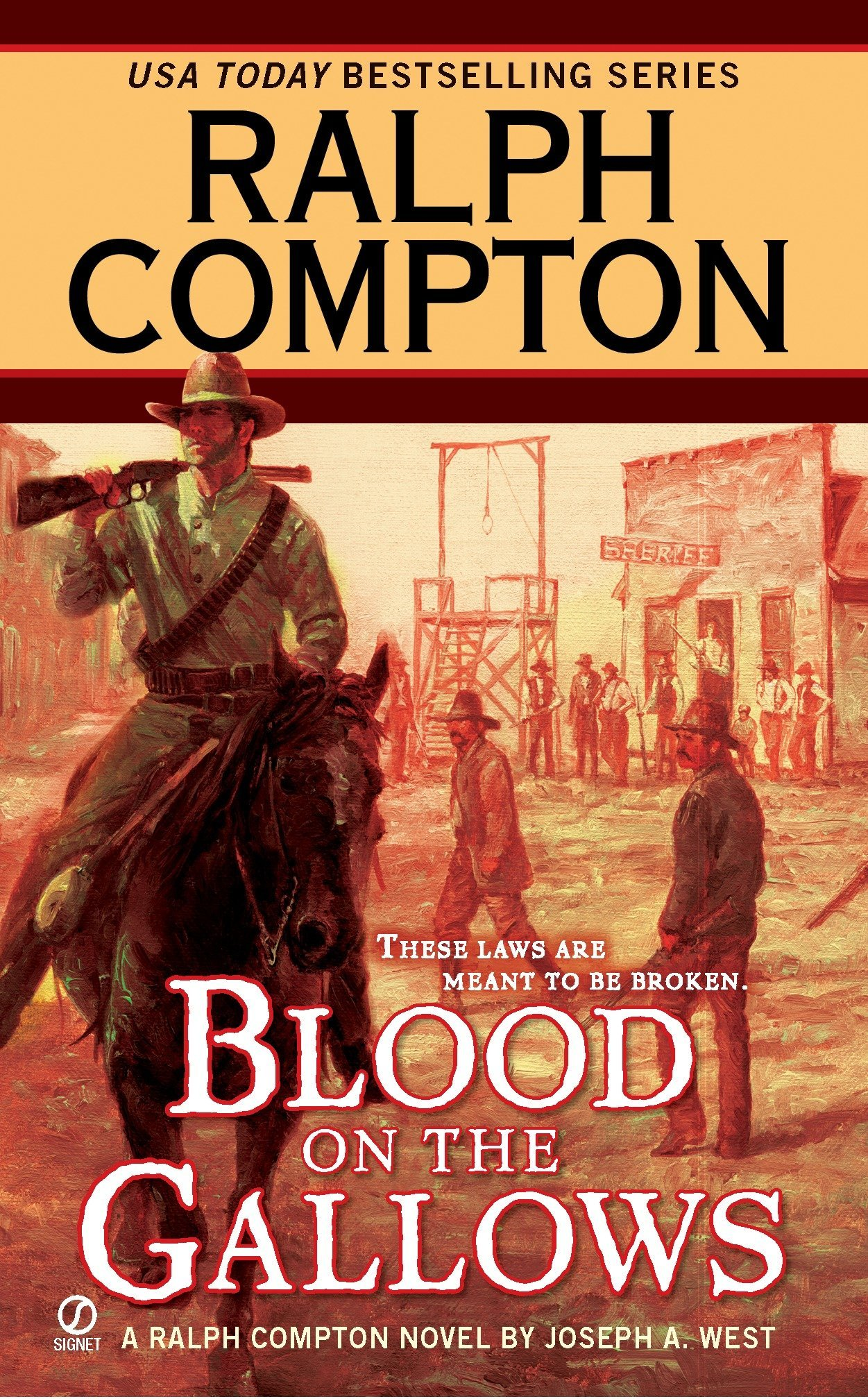Blood on the Gallows (A Ralph Compton Western) PDF