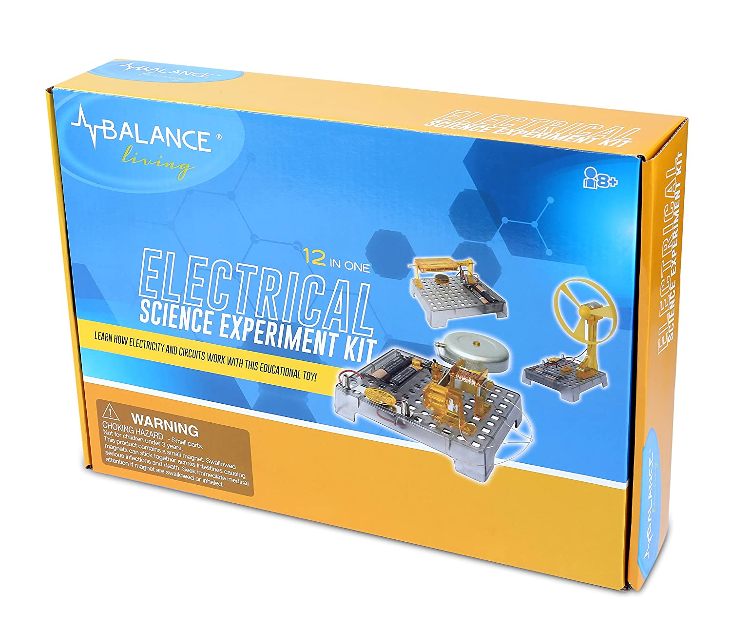 Balance Living Electrical Science Experiment Kit Toys Home Experiments Energy Electricity Easy Games