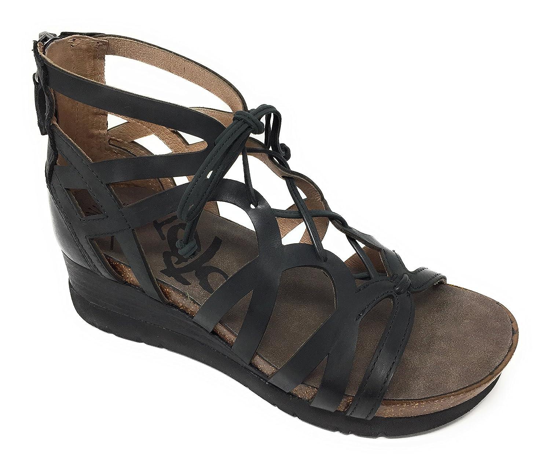 OTBT Womens Escapade Wedge Sandal, Black, 8 B(M) US B07CF4LNT4 Parent