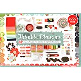 """Thimble Blossoms Jigsaw Puzzle for Adults by Camille Roskelley: 1000 Pieces, Dimensions 28"""" x 20"""""""