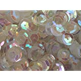 Sequins 8mm 800/Pkg Clear Iridescent