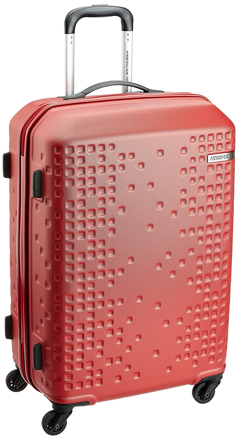 American Tourister Cruze ABS 70 Cms Red Hardsided Suitcase