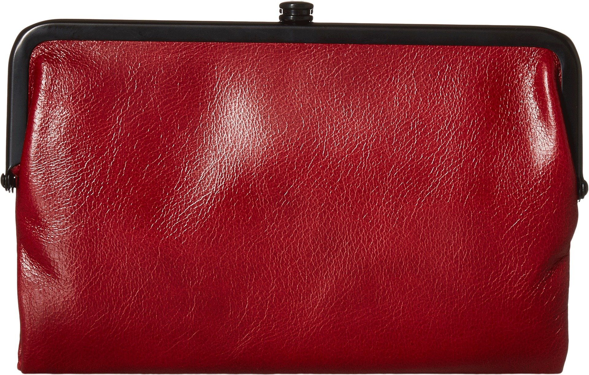 Hobo Womens Glory Vintage Leather Clutch Wallet (Cardinal)