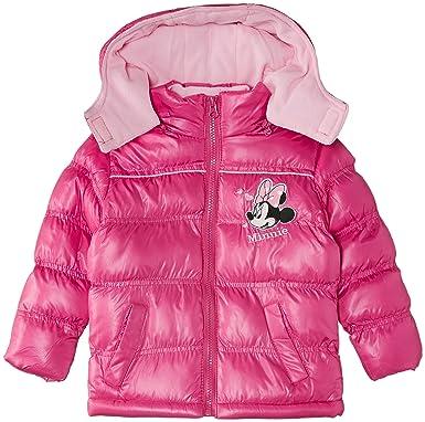 Disney Minnie Mouse - Abrigo para niñas, Color Fuchsia, Talla 3 años: Amazon.es: Ropa y accesorios
