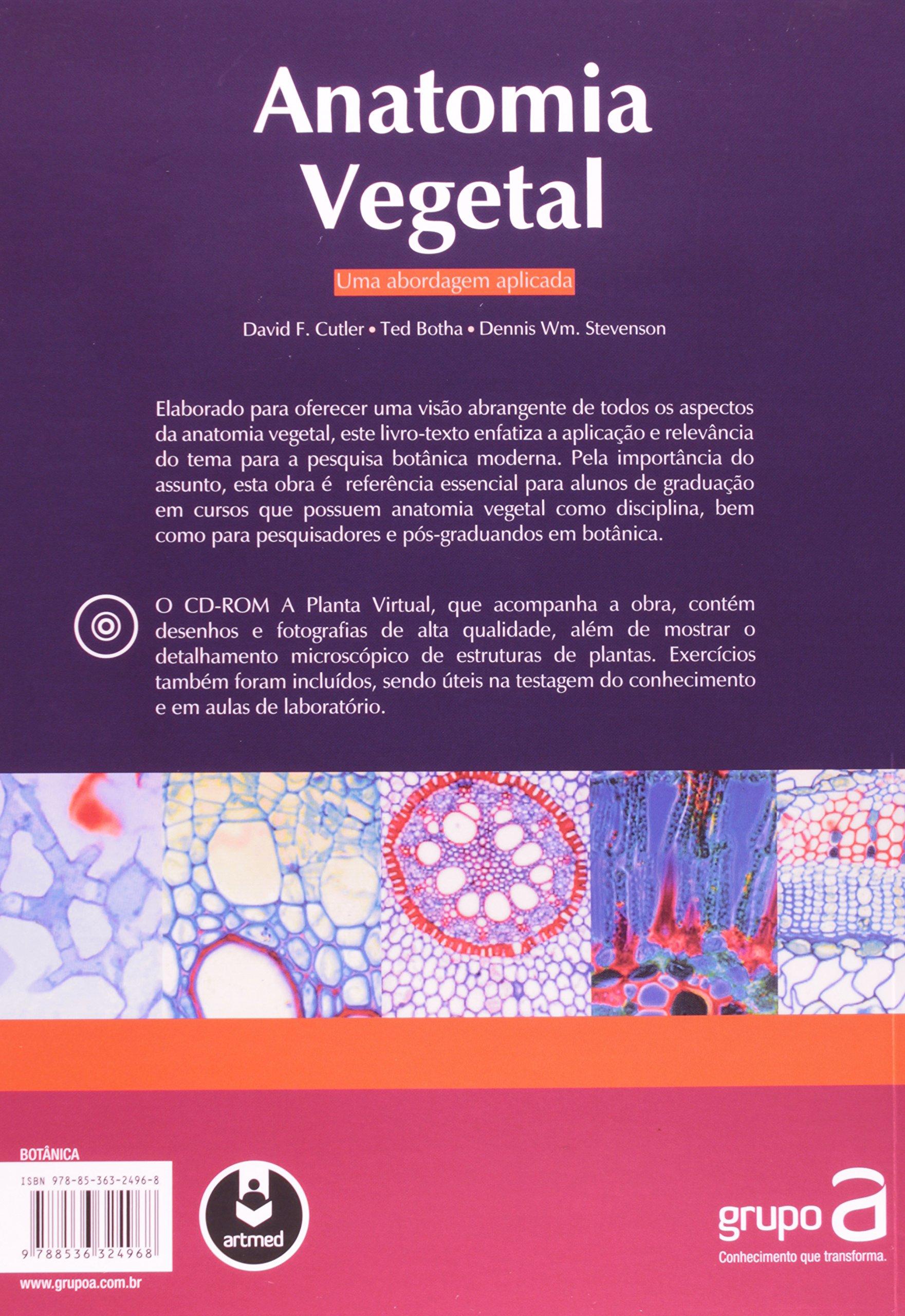 Anatomia Vegetal. Uma Abordagem Aplicada (Em Portuguese do Brasil ...