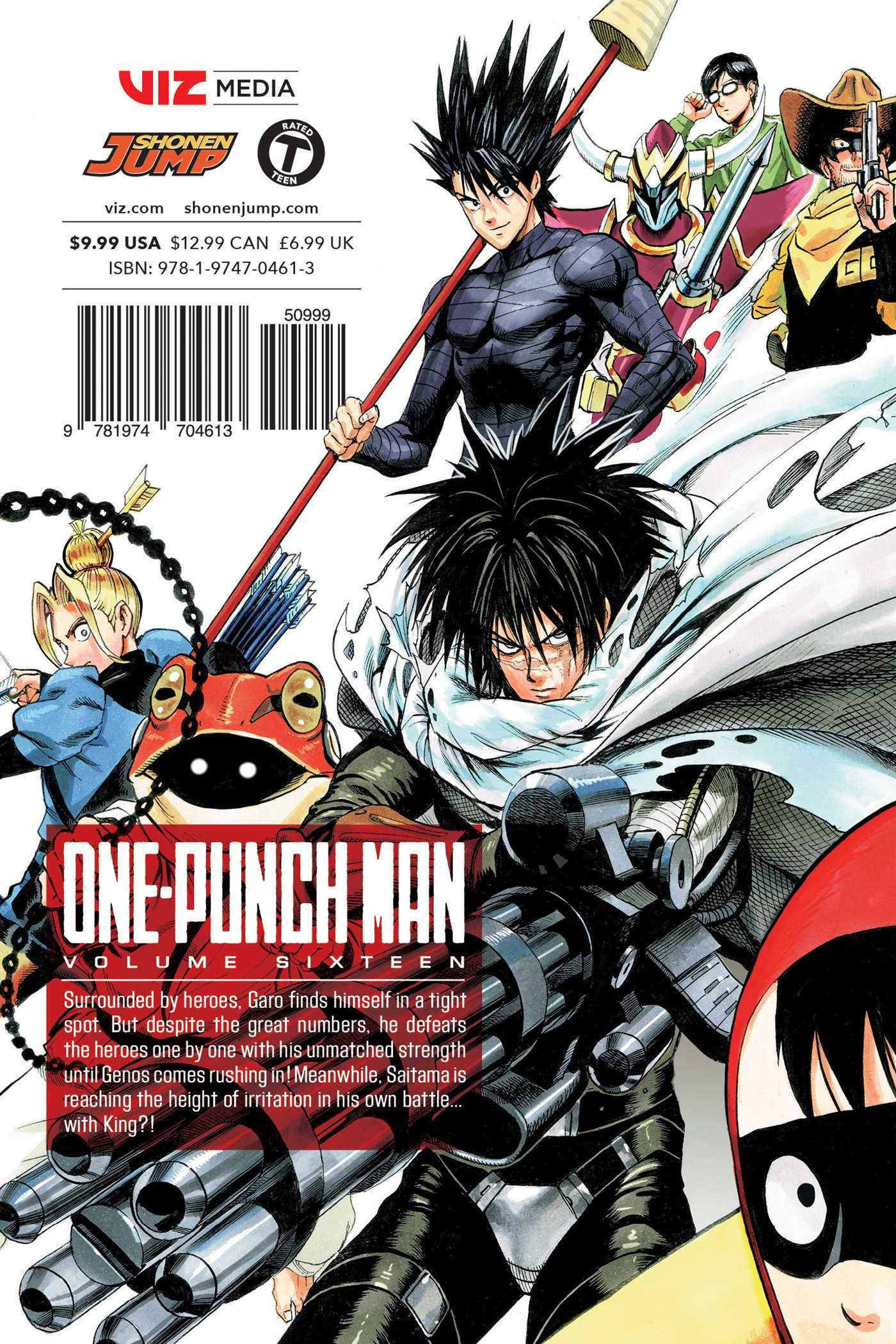 One-Punch Man, Vol  16: Amazon co uk: ONE, Yusuke Murata