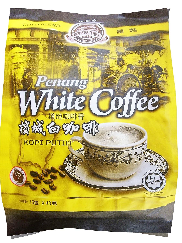 Penang White Coffee 600g 40g X 15 Sachets Grocery Kopi Wihte Gourmet Food