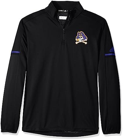 9ad32e208fbc adidas NCAA East Carolina Pirates Men s Sideline L S 1 4 Zip Pullover Jacket