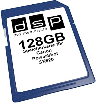 Tarjeta de Memoria de 128 GB para Canon PowerShot SX620: Amazon.es ...