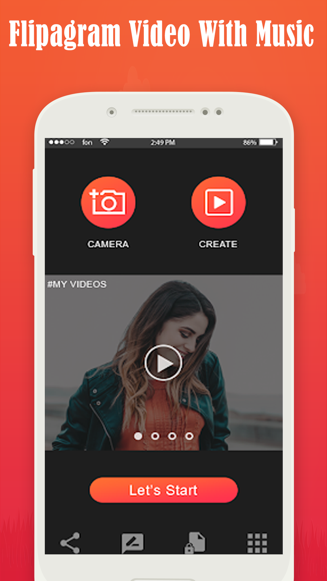 video maker with music and photo (slideshow maker): Amazon.es ...