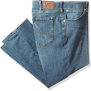 cb9eef90 Amazon.com: Lee Men's Big & Tall Custom Fit Relaxed Straight Leg ...