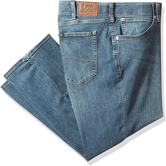 7d908283 Amazon.com: LEE Men's Extreme Motion Relaxed Jean - Big & Tall, Mega ...