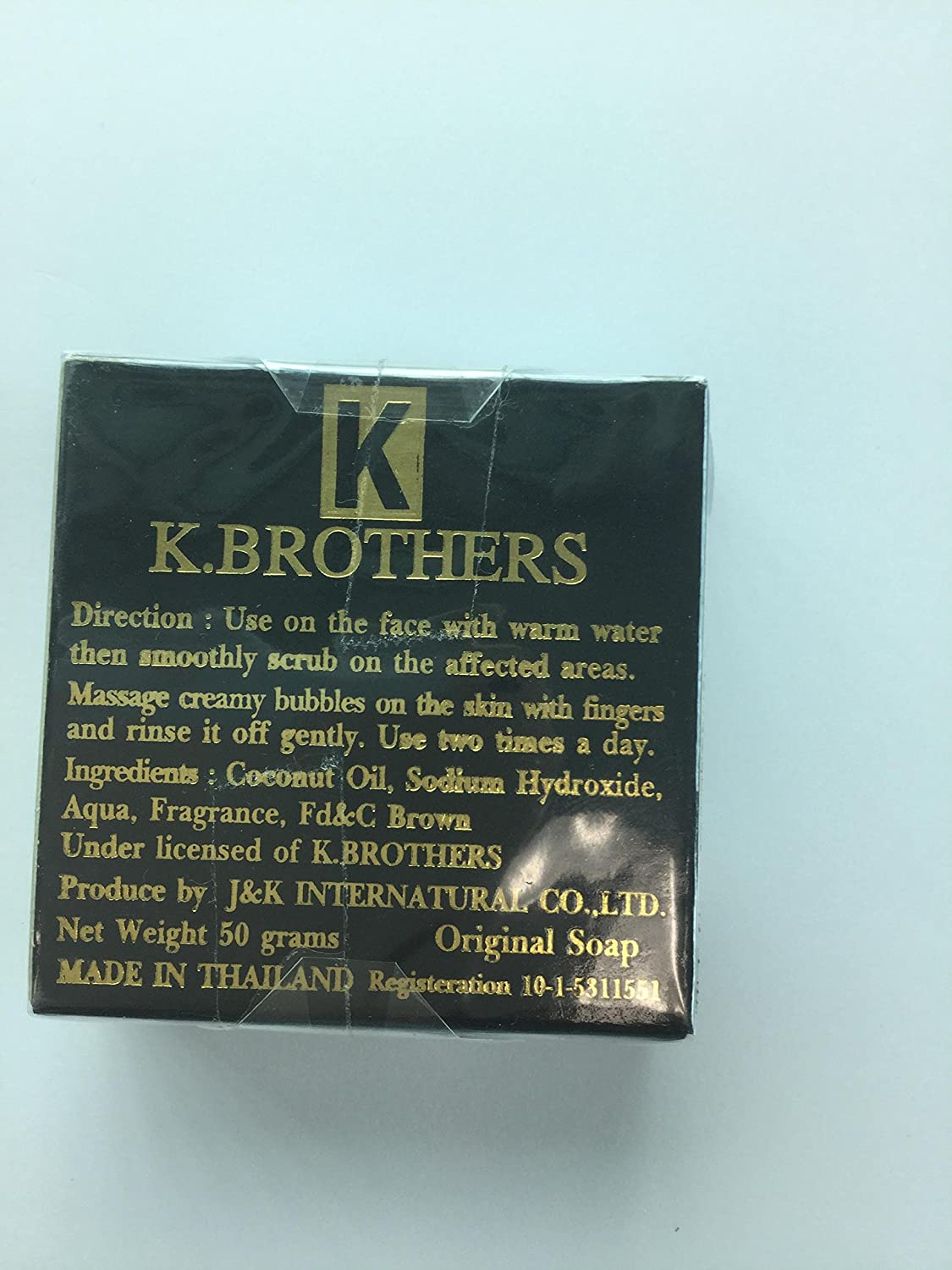 Kbrothers Soap Whitening Beauty Care Face Out For K Brothers Black Spot Mask On Usa 3pcs 1 Pcs50 G Everything Else