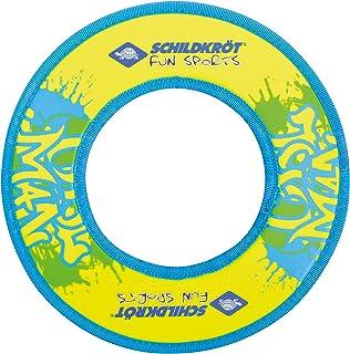 Schildkröt Ring Diamètre de vol, 970229Neopren Taupe Ring, Jaune/Bleu, 24cm