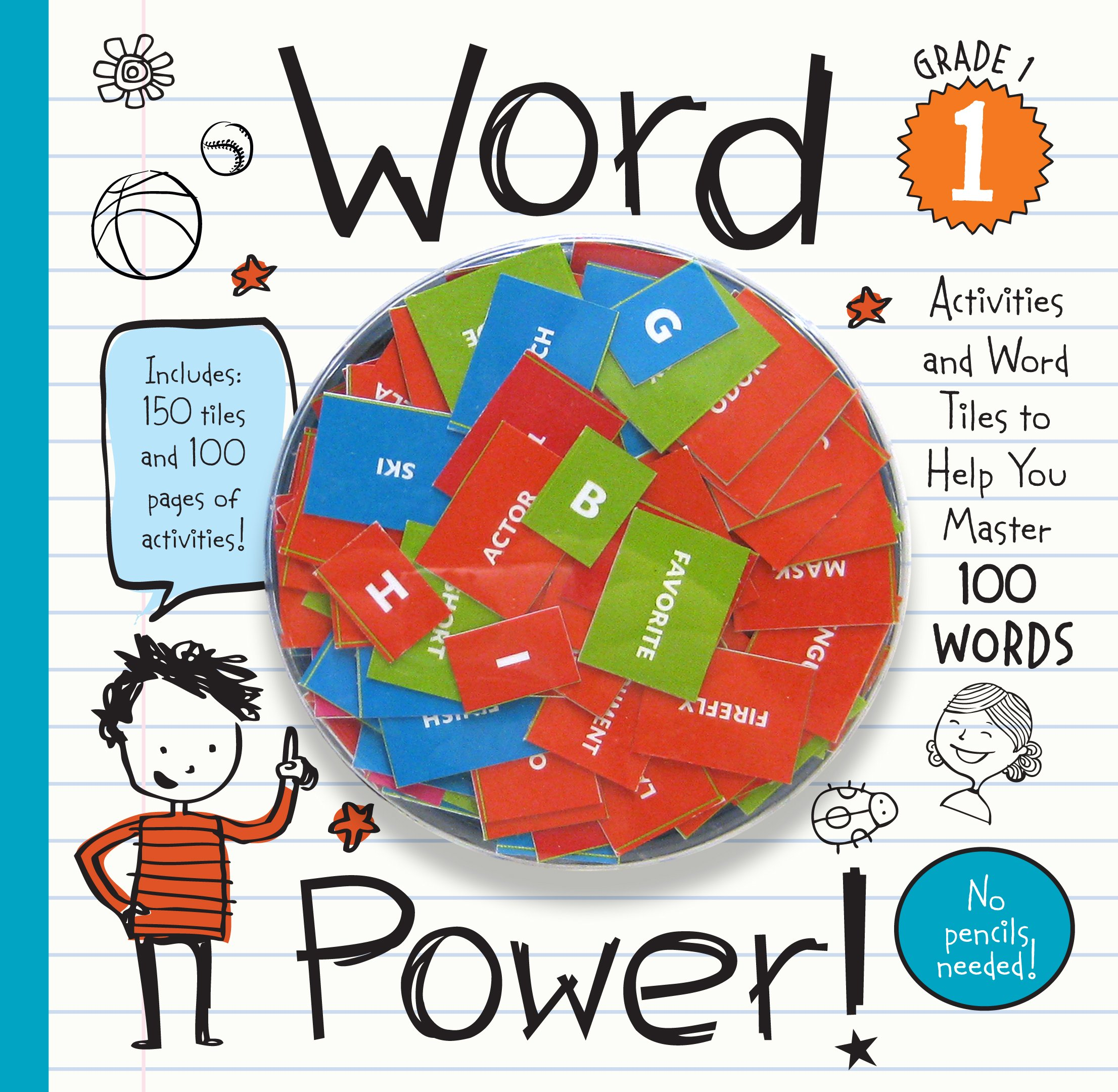 Read Online Word Power! Grade 1: Activities and Word Tiles to Help You Master 100 Words! PDF