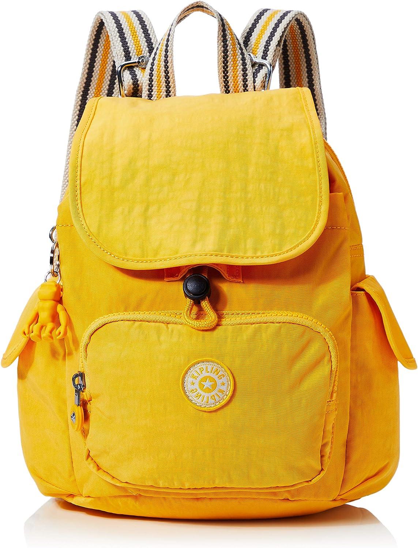 tugurio Enciclopedia capitalismo  Amazon.com | Kipling City Pack S Mini Backpack Vivid Yellow | Casual  Daypacks