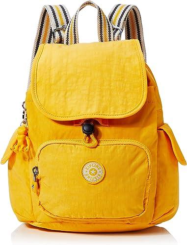 KiplingCity Pack MiniMujerMochilasAmarillo (Vivid Yellow)27x29x14 Centimeters (B x H x T): Amazon.es: Zapatos y ...