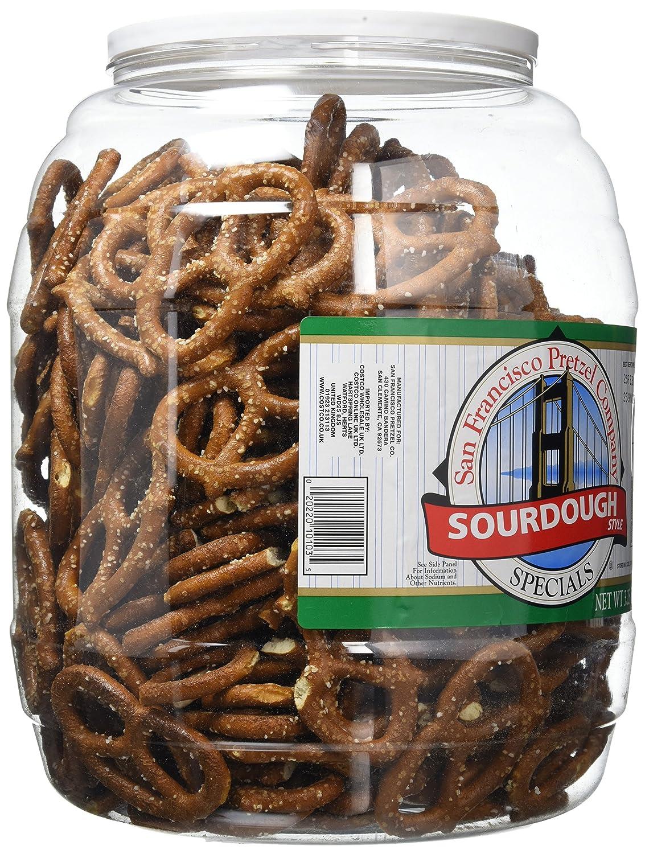 San Francisco Sourdough Pretzels 147kg Jar Amazoncouk Grocery