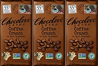 product image for Chocolove Dark Coffee Crunch Chocolate Bar 3.2 OZ(Pack of 3)